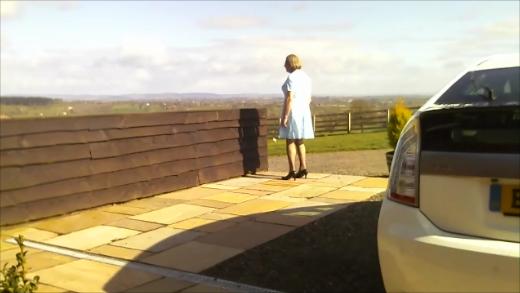 Johanna at Kilpeck , Herefordshire