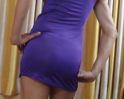 Purple...makes it more feminine