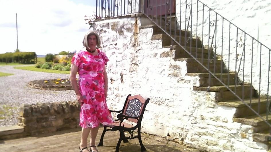 Johanna at Barnard Castle